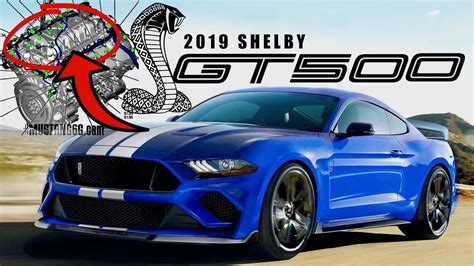 2019 Ford Shelby Gt500 by 2019 Shelby Gt500 Confirmed By Ford Leaked Data