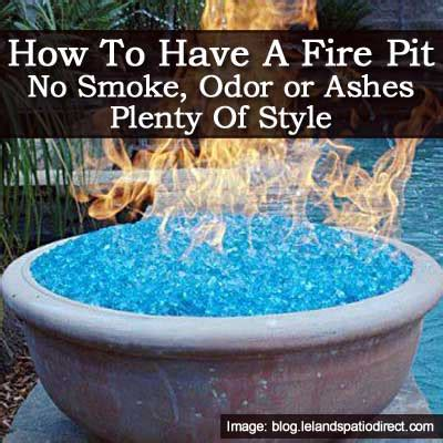 Fire Pit With No Smoke Odor Or Ashes And Style How To Make A Glass Pit