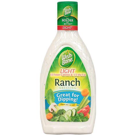 Light Ranch Dressing Calories