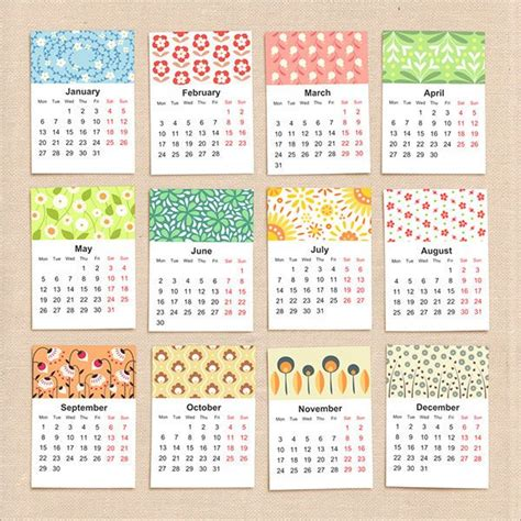 printable monthly calendar with design floral calendar 2015 design 2 graf pinterest