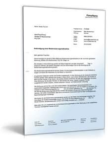 Moderne Korrespondenz Vorlagen Ank 252 Ndigung Modernisierungsma 223 Nahmen Vorlage Zum