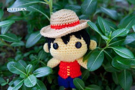 amigurumi luffy pattern pattern monkey d luffy one piece amigurumi crochet от