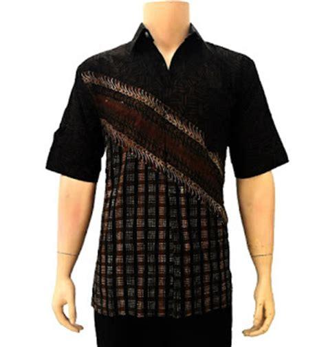 Baju Muslim Pria Modern Katun Hitam baju batik wanita dan pria