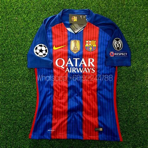 Jersey Barcelona Home 1617 Patch Ucl barcelona home jersey jersi 2016 end 1 23 2018 8 59 pm