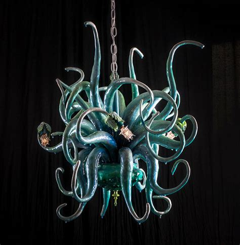 Octopus Chandelier For Sale More Marvelous Octopus Chandeliers By Adam Wallacavage