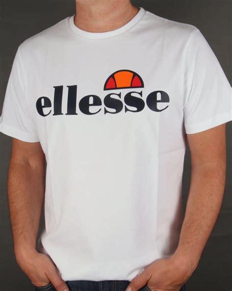 Tshirt Ellesse New One Tshirt ellesse logo t shirt white mens carrier crew neck