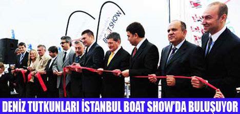 boat show in ta istanbul city port ta boat show a 199 ildi