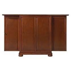 winsome yukon wine cabinet with expandable top espresso lafayette sliding top bar cabinet target