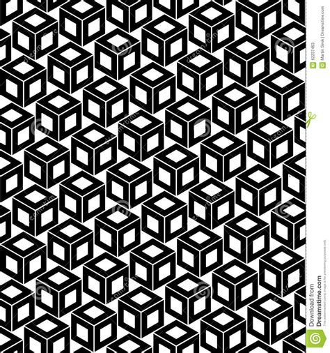 print pattern geometric 1780674147 vector modern seamless geometry pattern cubes black and white abstract stock vector image