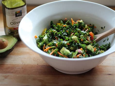 Detox Salad With Lemon Dressing by Kale Rainbow Detox Salad With Lemon Vinaigrette