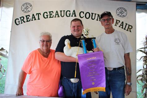 geauga county warden geauga grand chion duck farm and dairy