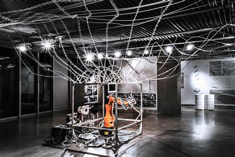 robot room students develop 6 axis robotic 3d printer inspired by spiderwebs 3dprint the voice of