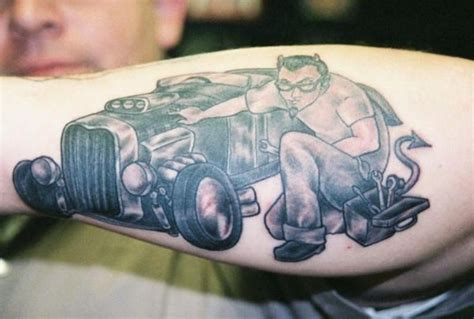 imp tattoo when the becomes a canvas for automotive