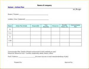 Plan Template Free by 8 Plan Template Free Authorizationletters Org