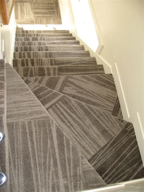 carpet tile stairs carpet tile floor pinterest