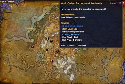 all the important locations throughout the quest today in legion for world quest tracking broken isles