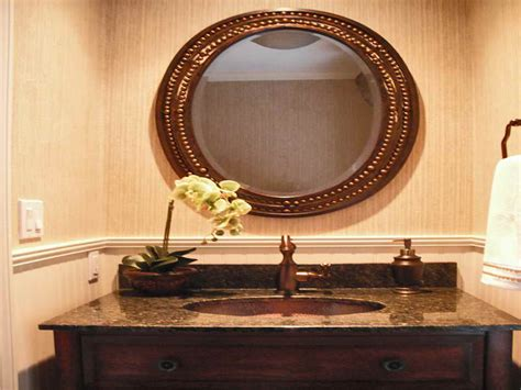 Framed Oval Bathroom Mirror by Framed Oval Mirrors For Bathrooms Bathroom Design Ideas