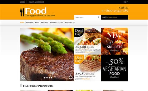 shopify grocery themes food store responsive shopify theme 48535