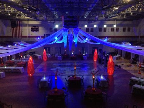 party themes like fire and ice fire ice prom theme 2014 8th gr grad bash neon glow