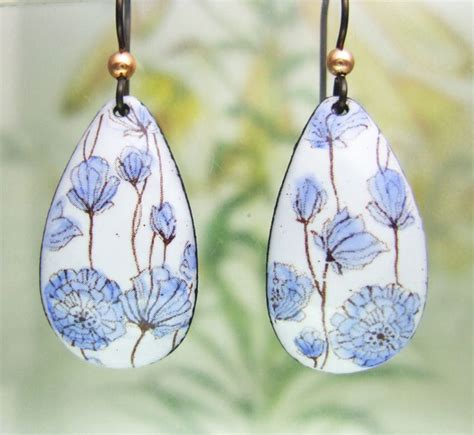 Enameled Jewelry Handmade - 391 best images about enamel jewelry on