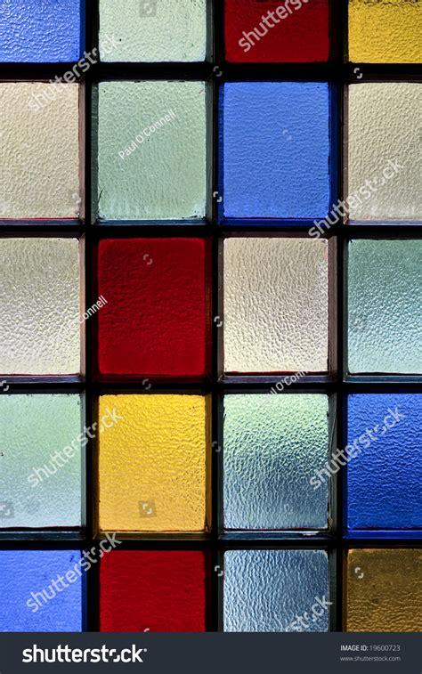 colored window coloured glass window stock photo 19600723