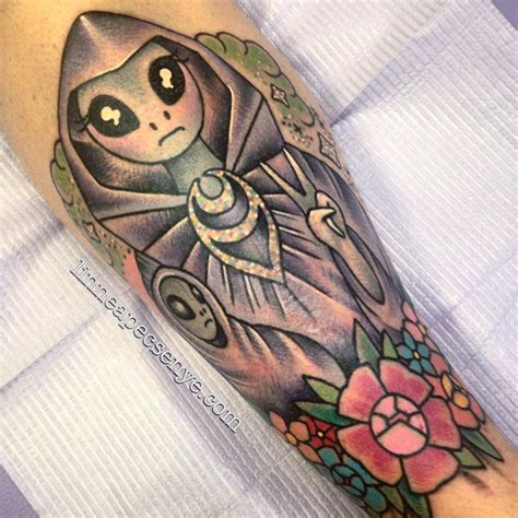 christian tattoo artists asheville nc grey alien virgin mary and jesus tattoo by linnea pecsenye