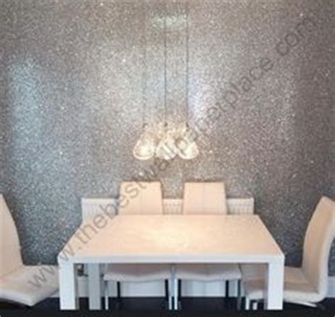grey glitter wallpaper in bedroom our silver glitter wallcovering sent into us by one of our