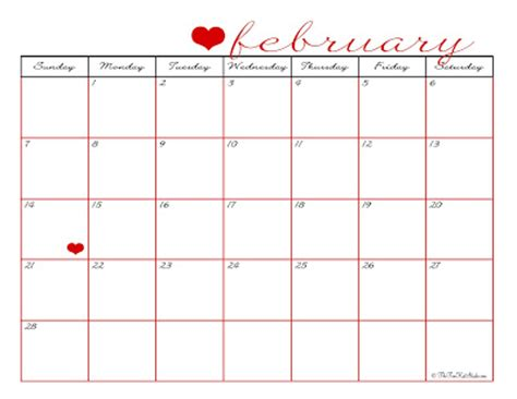 February 2010 Calendar The Tomkat Studio Free Printable February 2010 Calendar
