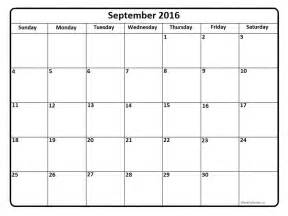 calendar templates free september 2016 printable calendar blank templates