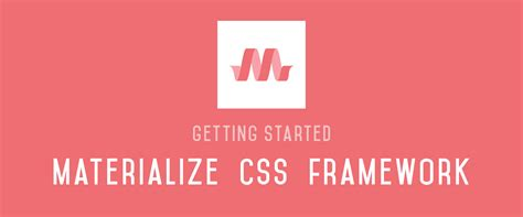 tutorial materialize css make material design websites with the materialize css