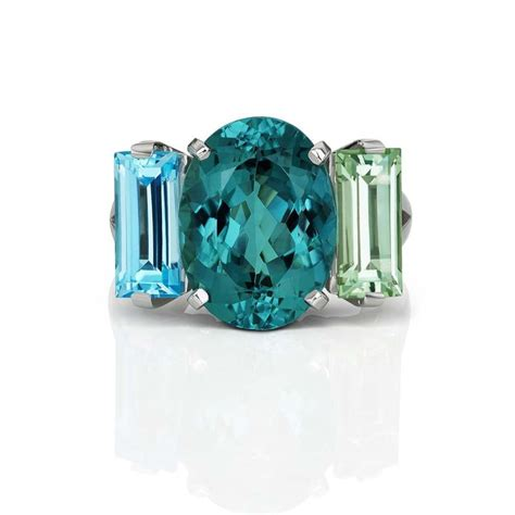 new trend a wave of blue gemstones at the couture show