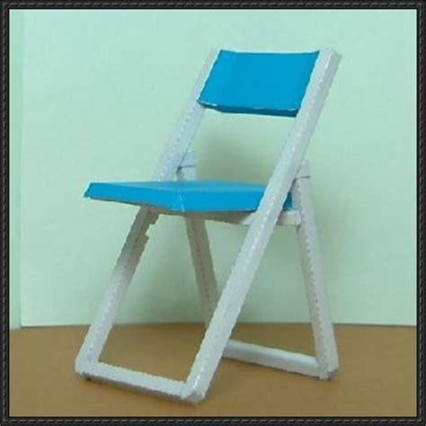 Papercraft Chair - furniture papercraftsquare free papercraft