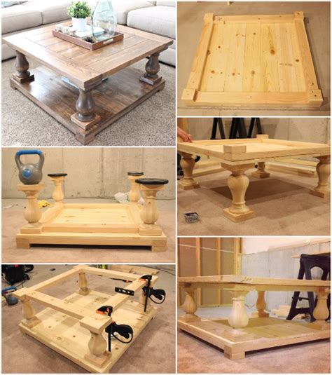 diy coffee table 20 cool easy to do diy coffee table ideas home magez