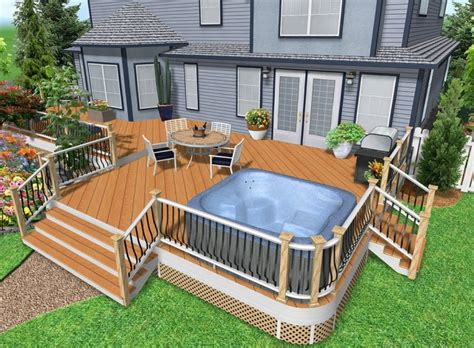 design my own patio design your own deck plans images