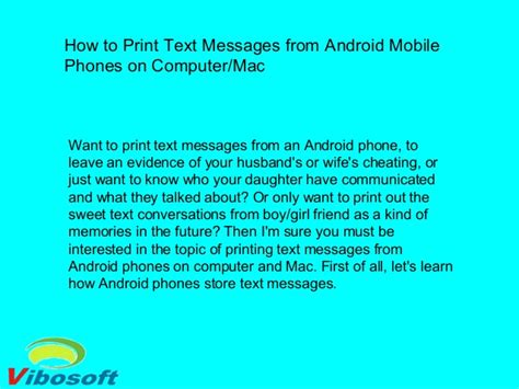 print text messages from android how to print text messages from android mobile phones on computer mac