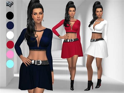 low mp download mp low cleavage date outfit the sims 4 download simsdom