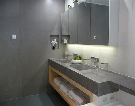 concrete bathroom vanity concrete bathroom vanities concrete benchtops canberra