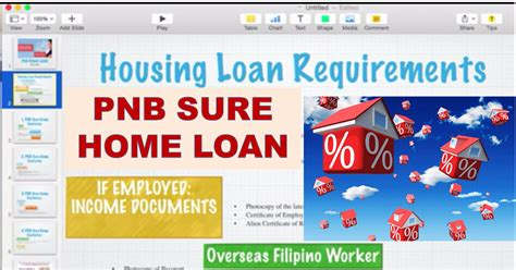 housing loan pnb how to avail of philippine national bank s pnb sure home
