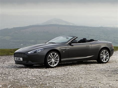 green aston martin convertible db9 convertible 1st generation facelift db9 aston
