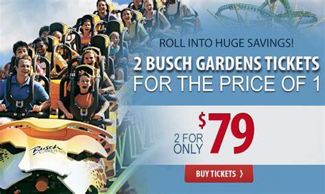 Busch Garden Williamsburg Tickets by Bush Garden Tickets Laurensthoughts