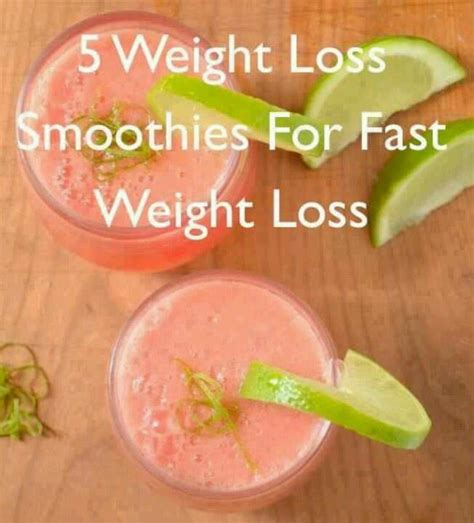 Detoxing Weight Loss Smoothies by 5 Great Weight Loss Smoothies Tidbits From Coach