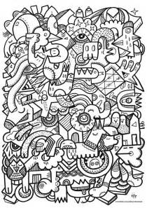 doodle coloring pages lets doodle coloring pages coloring home