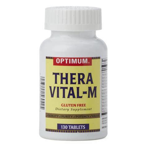 Vitamin Theragran Thera Vitamin With Minerals Tablets Generic Otc