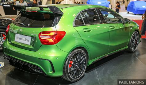 green mercedes a class giias 2016 mercedes amg a45 in elbaite green