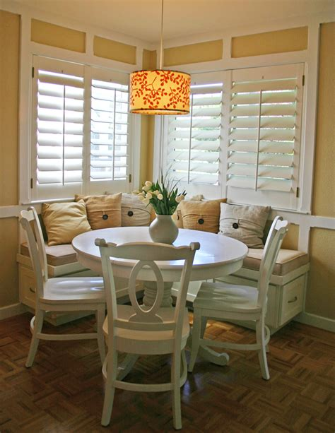 dining nook breakfast nook on pinterest storage benches corner