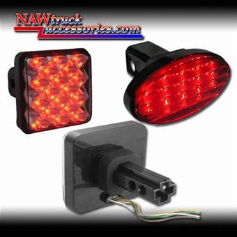 trailer hitch cover with 12 led brake light led hitch brake light covers