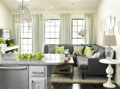 Green And Gray Curtains Ideas With Mowry The Of A Magazine Editor Southern Hospitality