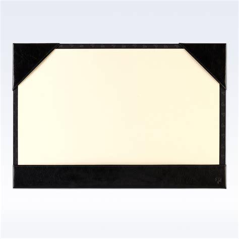 desk blotter black richmond leather a3 desk blotter