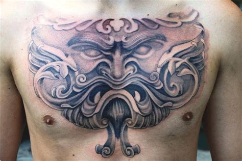 picture tattoos for men the 100 best chest tattoos for improb