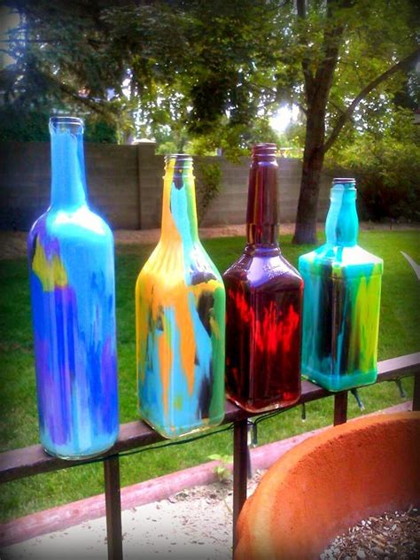 diy liquor ideas diy alcohol bottles diy painted liquor wine bottles